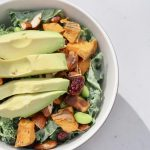 easy winter kale salad