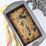 healthy banana bread with white beans