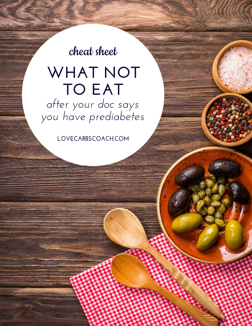 what not to eat when you have prediabetes