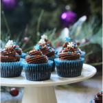 quinoa chocolate cupcakes with avocado icing