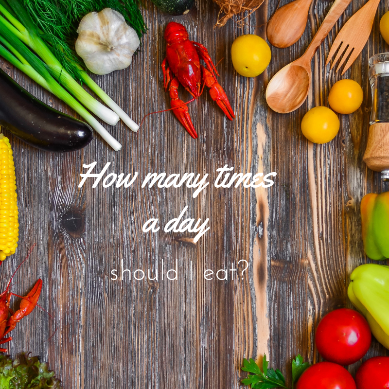 how many times a day should i eat