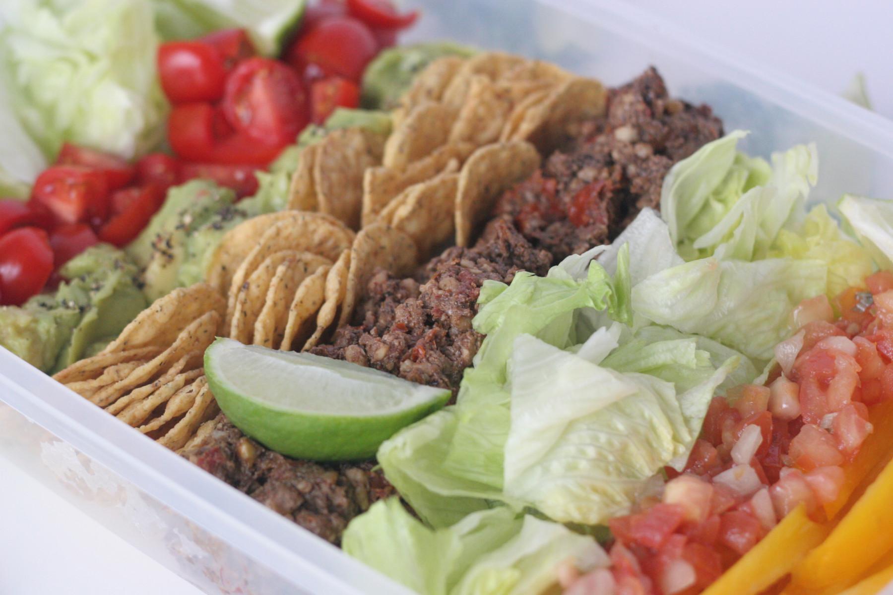 easy vegan taco salad