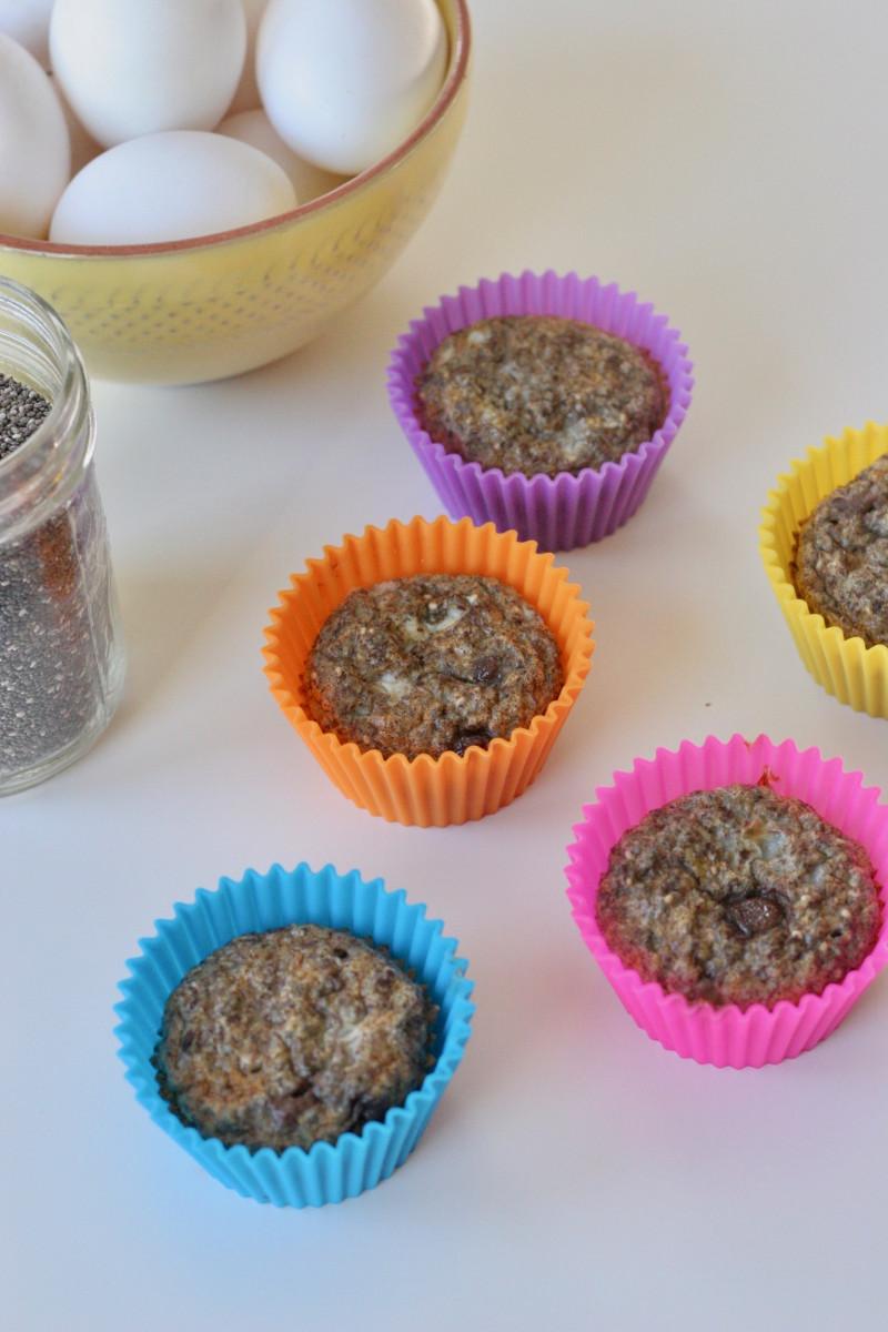 high protein gluten free muffins