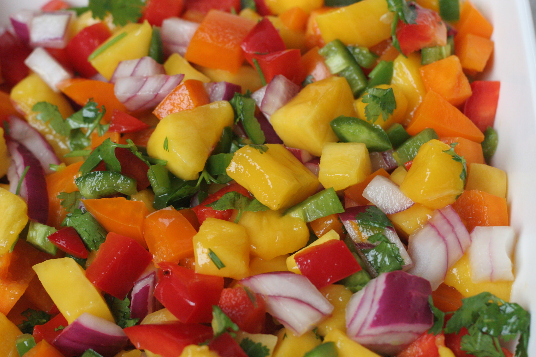 simple mango salsa